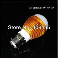 Wholesale(5pieces/lot)Led Bulb B22 3w 4w 5w 6w 7w 9w lights AC85-265V Warm/White LED Light Bulb Lamp