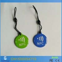 (2PCS/lot ) Rfid 13.56Mhz Smart Ntag203 Chip NFC tag/sticker for Samsung Galaxy S3/GALAXY Note II /Nokia Lumia 9200/Sony Xperia