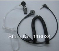Listen-Only Acoustic Tube Headset/Earpiece 3.5 mm Plug for radios speaker mic