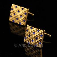Запонки и зажимы для галстука ANL DESIGN Qulity Swarovski S35 C02 ALXK010DX