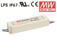 Mean Well 60W 1750mA Single Output Switching Power Supply LED Driver LPC-60-1750 Constant current IP67 LED power supply
