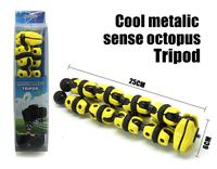 2015 New yellow Luxury  Flexible Compact OctopusTripod 1/4 Professional tripod for DV Vedio Digital Camera DSLR Camcorder