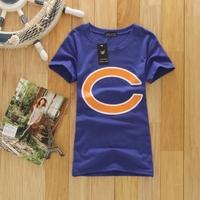 T-shirt summer women's clothes short-sleeve shirt slim waist top o-neck short-sleeve T-shirt blue new fashion cheaper wholesale