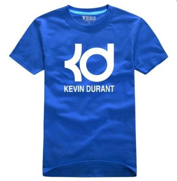 Oklahoma City Thunder Kevin Durant KD Print T- shirt DIY 100% Cotton shrts custom shirts Plus Size T-shirts 1401186(China (Mainland))