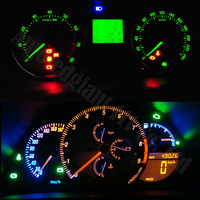 10x Bright blue  or white  T5 73 74 1-led Instrument Cluster Panle DASHBOARD LED CAR LIGHT