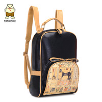 Backpack school bag double-shoulder women's handbag small fresh preppy style female 2014