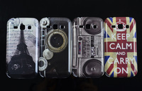 Retro radio Camera UK flag Hard Cover Case For Samsung S7272 Galaxy Ace 3 III Back Cover