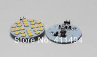 10pcs/lot AC/DC 12V-24V G4 6W Home Car RV Marine Boat LED Light Bulb Lamp 24 leds 5050 SMD 12V 24v Free Shipping