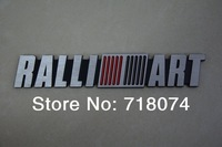 car emblem badge sticker 3d logo paster adhesive for toyota trd sports side rear logo for mitsubishi ralli art