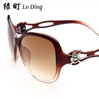 2014 new women sunglasses fashion sunglasses women brand designer coating sunglass ken block oculos de sol B0044