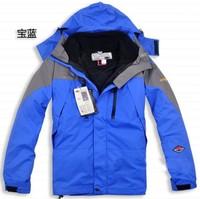 HOT !autumn winter New fund.Waterproof, breathable Outdoor, mountain hiking, man jacket coat lining+hood