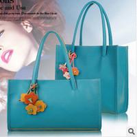 Bags new 2014 summer handbag women leather handbags candy color spring women messenger vintage small shoulder casual bag
