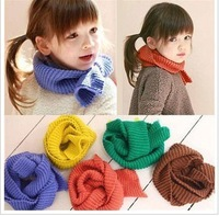 Candy color child muffler scarf baby scarf winter male female child scarf winter baby muffler scarf