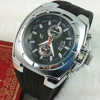 V6 watch male watch fashion sports quartz silica gel watch