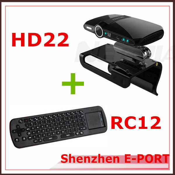 RC12 Fly Air Mouse + HD22 5.0MP camera and Mic Mini PC HDMI 1080P RAM 1GB ROM 8GB skype Google Android TV box smart tv(China (Mainland))