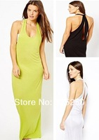 sun dress women fashion summer 2014 cotton candy colors sexy swimsuit cover ups hollow out beach swimwear dress plus size