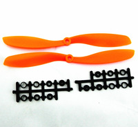 10pcs Orange 8045 Props 80x4.5 CW/CCW Propeller for multicopter quadcopter FPV