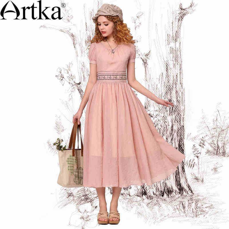 http://i01.i.aliimg.com/wsphoto/v0/1713848221_1/Artka-Women-s-Retro-Elegant-Embroidery-Cinched-Waist-Slim-Fit-Short-Sleeve-Scoop-Neck-Pearl-Pink.jpg