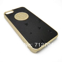 Newest hard snap on case cover with bitcoin and car logo For Apple iphone 5 A206