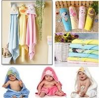 2014 New Brand Carter's 100% Cotton Baby Blankets Bathrobe , Cartoon Animal Bedding Robe Envelope For Newborns