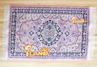 "New 2014 Dollhouse Miniature Accessories Pink Turkey carpet  OR207 6""x10"""
