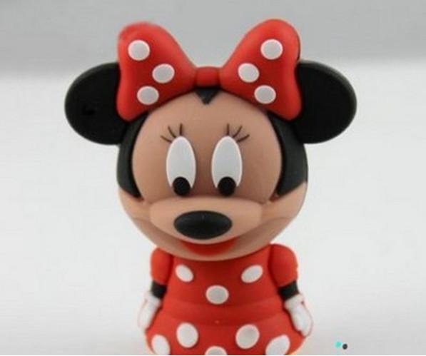 Mickey Cartoon Shaped USB 2.0 2GB 4GB 8GB 16GB 32GB 64GB Flash Pen Drive Disk Sticks Pendrives Thumbdrive-free shipping(China (Mainland))