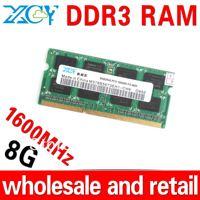 wholesale DDR3 8GB RAM notebook memory pc ddr3 ram DDR3 1600MHZ SODIMM 1.5 Power