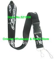 Sale 10 Pcs stars & Alpine  man sport phone neck  lanyard mobile key chain strap