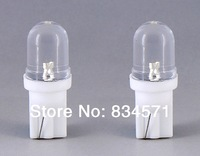 Free shipping T10 LED W5W Car LED Auto Lamp Powerful T10 LED Car Light Bulb  2pcs/lot  (White)