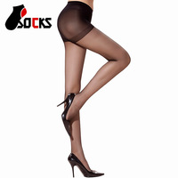 Wholesale 2014 new Ultra-thin transparent color optional anti- cored wire hook sexy women's tights socks silk stockings