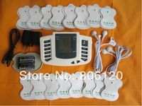 JR-309 Hot new Electrical Stimulator Full Body Relax Muscle Therapy Massager,Pulse tens Acupuncture+16pads