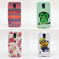 Fashion IMD Hard Plastic Case For Samsung Galaxy S5 I9600 SV S 5
