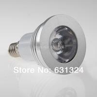 5sets/lot 3W E14 RGB LED Bulb LED Spotlight LED Lamp 85-265V HK Post free shipping
