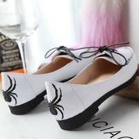 In the spring of 2014 new women genuine leather shoes  with pointed shoes straps women flats
