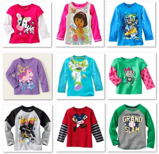 Children's Tees Shirts Long Sleeve boys Tops girls t-shirts 100% Cotton Top Quality Retail Dropship(China (Mainland))