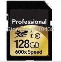 Wholesale full capacity professional SDHC SDXC SD memory card 16gb 32gb 64gb 128gb 600X Class 10 speed