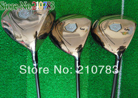 New Golf Clubs Maruman Majesty Golf Wood set Golf driver 10.5 loft .3/5 Woods.Graphite shaft,With Club head covers Free Shipping