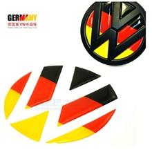 German flag Volkswagen Golf car stickers Epoxy standard rear 6polo Lavida Magotan CC Tiguan(China (Mainland))