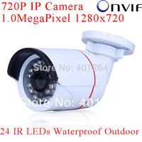ANRAN Onvif H.264 1.0 MegaPixel 1280x720 HD 25fps Network 720P IP Camera Waterproof CCTV Camera