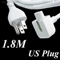 2014 New 1.8 Meter US Plug AC Wall Charger Extension Power Cord Cable For Magsafe 45W 60W 85W 50pcs/lot Free DHL