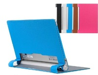 Free shipping Folio Leather case for Lenovo B8000 Cover Yoga 10 10.1inch Tablet PC