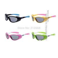 NEW BOYS GIRLS Kids Childrens TR90 Shades UV 400 Polarized Sunglasses&Test paper