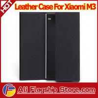New Arrival! 100% Genuine Original Leather Case For Xiaomi Mi3 M3, Xiaomi m3 mi3 WCDMA 64gb phone case + Screen protector