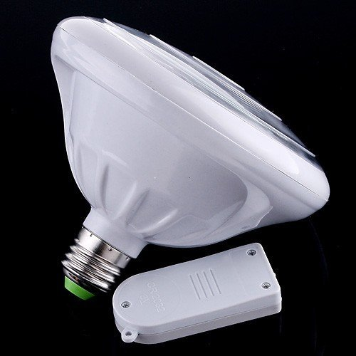 Rechargeable Emergency LED Lamp 3W E27 LED bulb light with Remote Control Free Shipping(China (Mainland))