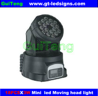 Led par light 18X3W  RGB  use disco, stage, KTV
