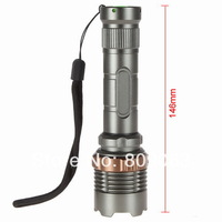 Free Shipping 2014 New 600Lumens CREE XPE R5 LED Adjustable Focus Bright Flashlight for Night Outdoors