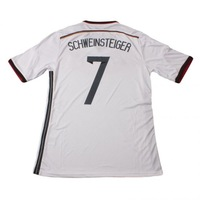 2014 Brazil World Cup Germany jerseys #7 SCHWEINSTEIGER Home Fans Version Embroidery Logo Futbol shirts soccer sport clothing