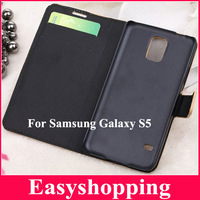 DHL/EMS Freeshipping 20pcs Mobile Phone Bag Case For i9600 Map print Case for Samsung Galaxy S5 i9600 Cover with Card Holder