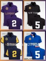 Men's POLOS Fashion t shirt short , Good Quality, Retail, Drop Shipping, Wholesale, Free Shipping