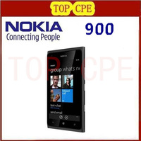 Nokia Refurbished Lumia 900 original unlocked 3G GSM mobile phone WIFI GPS 8MP 16GB Windows Mobile OS smartphone free shipping
